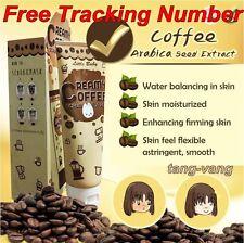 100g Creamy coffee scrub & mask Little baby Whitening Skin Brighten Soft Smooth