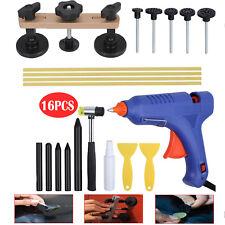 PDR Paintless Dent Removal Tool Pulling Bridge Hail Repair Glue Gun Kit Set 16X