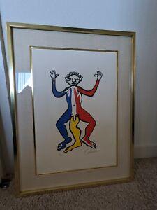 Signed Alexander Calder Un Patriote Lithograph