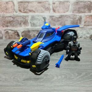 Imaginext Batman Batmobile (Car) Batman Figure, including Missile - Free UK P&P