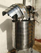 Roman Lorica Segmentata Armor Breastplate Costume Brass Lined Segmenta Ae