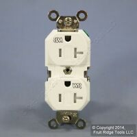 Obsolete New Leviton 6895 GFCI faceless High Current GFI Ships Today