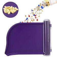 Pills Counting Tray Pills Counter Dispenser Pharmacy Medical Pharmacists Tool BT