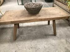 Vintage industrial European farmhouse kitchen coffee table #1