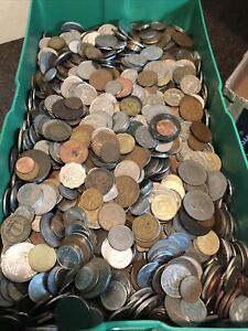 SASA 10 pound lot of foreign coinage. 1800 to present Possible