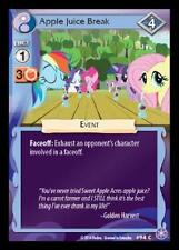 3x Apple Juice Break - 94 - My Little Pony The Crystal Games MLP CCG