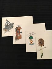 Vintage Set 36 cards STATIONERY POST A NOTE CARDS IN ORIGINAL BOX by Current