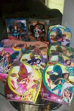 Winx Club 11.5 SDCC Believix Set of 14/Dolls Aisha Stella Bloom Tecna Musa Flora