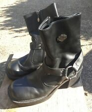Authentic Harley Davidson Pavement Harness Women's Motorcycle Boots Sz 8 1/2