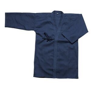 Dark Blue Kendo Keikogi Martial Arts Jacket