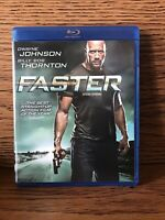 Faster (Blu-ray 2010) Action Dwayne The Rock Johnson Disc NM