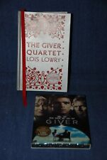 "Lois Lowry ""The Giver Quartet"" PLUS ""The Giver"" DVD"
