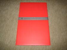 FERRARI f430 612 press kit cartella stampa cartella 61. AIA Francoforte 2005 + CD-ROM