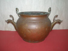 Antique copper ritual vessel without handle, 17-18th century - unknown origin