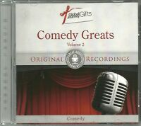 COMEDY GREATS VOLUME 2 CD - ORIGINAL RECORDINGS