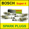 BOSCH Super4 Spark Plugs AUDI A3/A4/A6 1.6/1.8/2.0