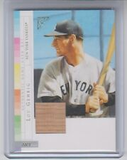 2003 Topps Gallery Lou Gehrig Atrifact Bat NM Condition