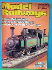 MODEL RAILWAYS JULY 1980 > WINCHESTER ROAD ~ SR IN 4mm SCALE 16.5mm GAUGE LAYOUT
