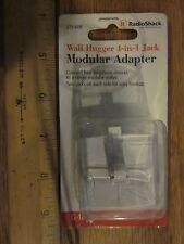 RadioShack 279-608 Wall Hugger 4-in-1 Jack Mod Adapter Free Ship!