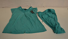 Midnight by Carole Hochman 2pc Soft Pajamas Set-EMERALD GREEN-Small-NWT
