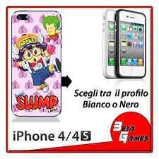 Dr Slump & Arale gacchan gatchan COVER RIGIDA CUSTODIA IPHONE 4 E 4S