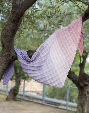 Katia Spring Rainbow shawl/wrap kit