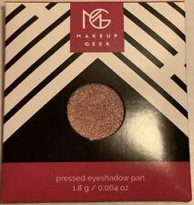 "BNIP Makeup Geek Eyeshadow Shimmer ""SOLO"" Pressed Powder Single Shadow"