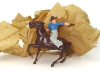 BRITAINS LATE 1940'S MOUNTED COWBOY - OLD/NEW STOCK - RARE