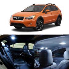8 x White LED Interior Lights Package For 2013 - 2018 Subaru XV Crosstrek + TOOL