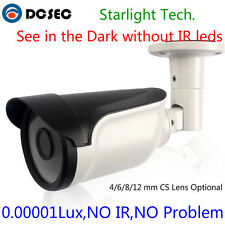 Low Light Analog Bullet Security Camera BNC Outdoor Color Night Vision 700TVL