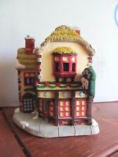 California Creations Christmas Village Hand Painted White Horse Pub 97452