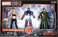 Marvel Legends 3 Pack MCU Marvel Studios The First Ten Years Iron Man 3 MISB