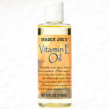 Trader Joe's Vitamin E Oil 24000 IU 4 oz Moisturizer All Skin Types Face Body