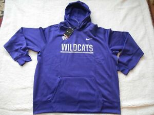 100% Authentic Nike Therma-Fit Kansas State Wildcats Football Hoodie Men 3XL NEW