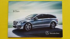 Mercedes-Benz Clase R 300 350 AMG CDI Folleto Ventas catálogo 2012 Menta Benz