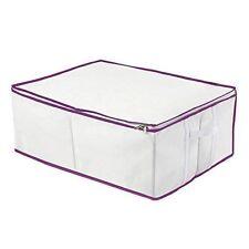 Solutions de rangement violet en tissu pour la maison