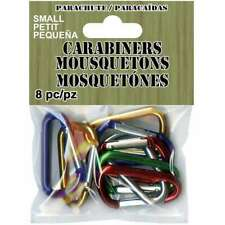 Paracord Carabiners Small 8/Pkg 725879320270