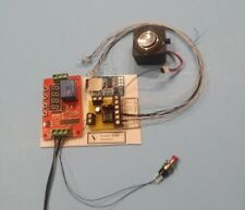 Thunderstorm Simulation , 7 LEDs, Speaker, Pushbutton