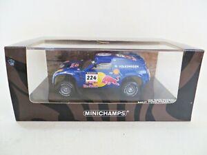 MINICHAMPS 'VW RACE TOUAREG #224, SABY/STEVENSON PARIS DAKAR RALLY 2004' 1:43