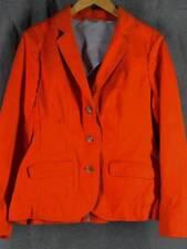 LL Bean Medium NWOT Orange Canvas Cotton Jacket Blazer