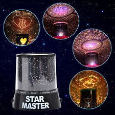 Magique STAR MASTER LED Nuit Ciel Lampe étoile Lune Projecteur Enfants Chambre
