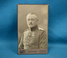 WW1 Era CDV Photo German Army Deutsches Heer Soldier Medal By Axmann Ratibor