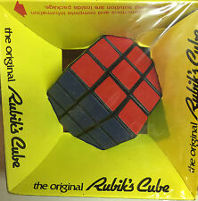 THE ORIGINAL VINTAGE RUBIK'S CUBE BY IDEAL-NEW IN SHRINK WRAP-ONE SMALL TEAR