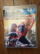 The Amazing Spider-Man (Sony PlayStation 3, 2012) Complete