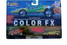 1993 Hot Wheels Color FX Show Cars Vampyra & Ferrari Testarossa