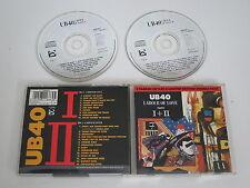 UB40/TRAVAIL OF LOVE PIÈCES I+II(VIRGIN-DEP INTERNATIONAL DEPDD 1) 2XCD ALBUM