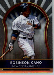 2011 Topps Finest #42 Robinson Cano - New York Yankees