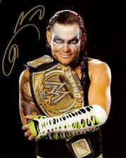 "Official Highspots - Jeff Hardy ""WWE Champion"" Hand Signed 8x10 *Inc COA*"