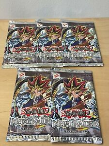 Yu-Gi-Oh! TCG 1st Edition Metal Raiders Factory Sealed Booster Packs x1 Yugioh