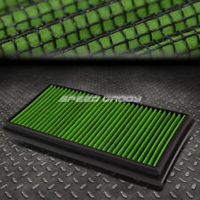 FOR C63/CL63/ML63/E63/SL63 GREEN REUSABLE/WASHABLE DROP IN AIR FILTER PANEL
